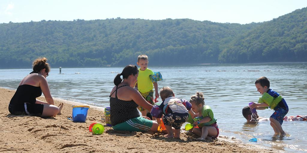 State Park Beaches Offer Extended Swimming Season