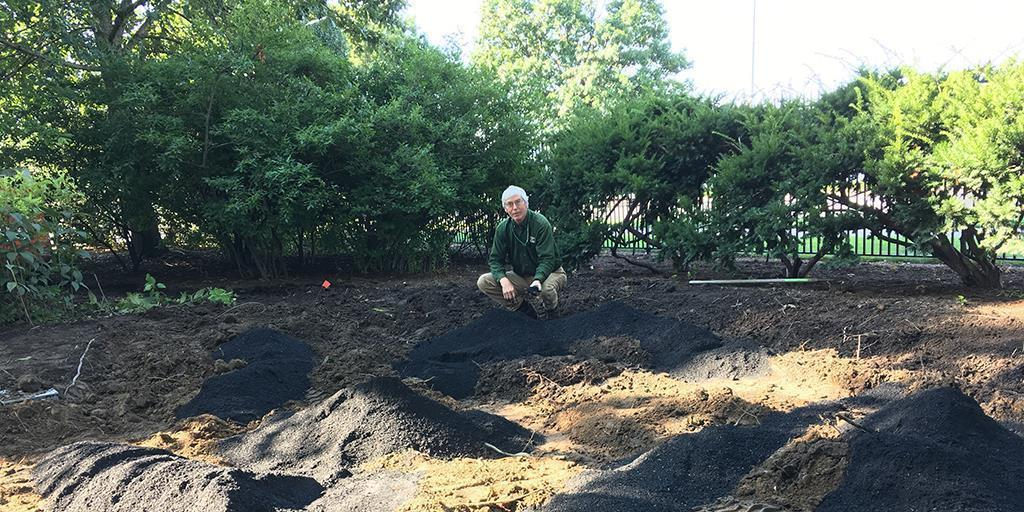 Fire and Rain—Using Biochar to Improve Rain Gardens, Control Stormwater