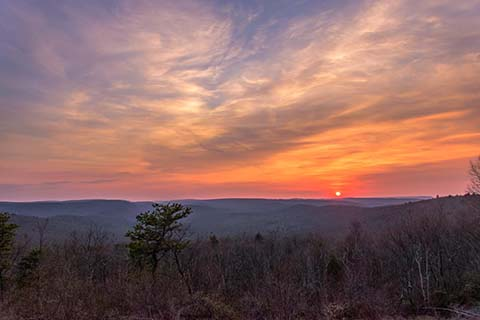 BLOG IMAGE - Sunset over Bald Eagle State Forest at the overlook on Jones Mountain Road.jpg