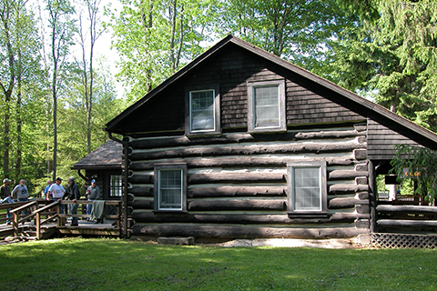 Ole Bull State Park Cabin