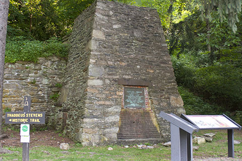 Civil War Iron Furnace