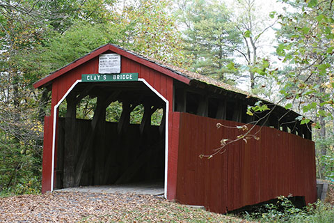 Little Buffalo State Park Covered Bridge